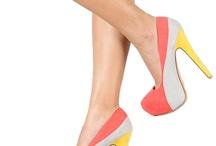 Shoe da lou! / Shoes, flats, high heels, stilettos  / by Colleen Crew