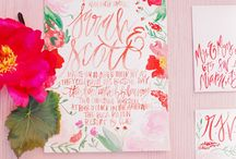 Watercolor Invitations / by Cards & Pockets