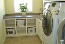 Home Ideas: Laundry Room / by Cayla McCoy