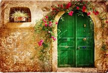 Doorways and arches / Pretty doors and archways I love. / by Deanne Doherty