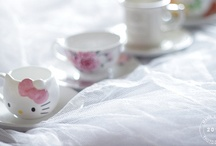 Tea cups, saucers, and fancy tableware / by Laura Vroman