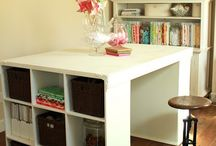 Craft Rooms & Work Shops / by Lisa Allard