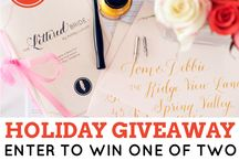 Giveaways! / by Michelle Benedict