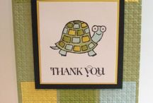 SU Thank You Cards / by Cathy Dawe