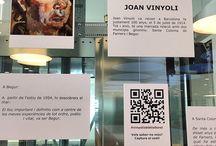 Mini Expos / Racons d'art i llibres. Monogràfics / by Expovirtual @bibliolloret
