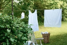 Linen and Lace / Tantalizing textiles and trims. Rustic and romantic. Vintage. Yummy.  / by Caryl Dungan
