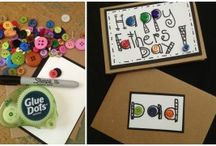 Buttons Galore: Buttons and Adhesives / Projects created with our buttons with a little help from Glue Dots. / by Buttons Galore and More