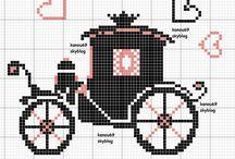 {Cross stitching!!}  / by viktoriya k