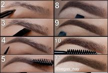 Hair and beauty / Hair styles, make up and beauty tips. / by Charlotte Brooks