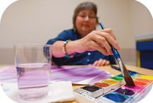 Medical Art Therapy / Art therapy and art therapists with medical populations, settings, and more / by ArtTherapy Alliance