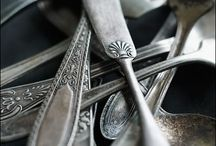 Formidable Flatware / Old, beautiful flatware.  / by Kriste Camsky