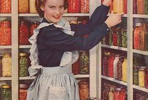 Canning, condiments et cetera / It all started with jams and pickles, and then continued to syrups, extracts and condiments, and now there's things like candy here too... / by Ketutar J.