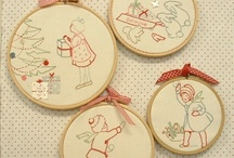 broderie pts comptes divers / by CHRISTINE RIBERE