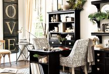 New Office / Creating office in home / by Jana McKey
