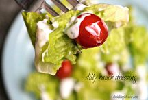 Food: Salads: Dressing / by Char Gust