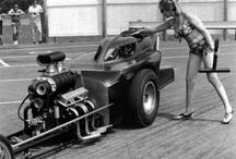 VINTAGE DRAG RACING  / '50's, 60's, 70's, 80's / by Joe Yogurt