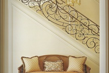 Heart & Home - Entryway and Stairs / by Rose