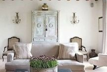 living areas / by Alicia Cribbs