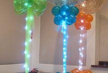 Balloon Decor Ideas / by Contrena Randolph