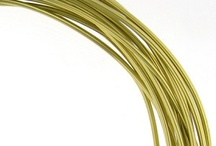 Aluminum Wire / Ideal for Wire Wrapping, Jewelry Design, Floral Design, Costumes, Interior Design, Hair Accessories, Scrapbooking, Crafts & More!  Lead-Free & Nickel-Free / by TooCuteBeads .com