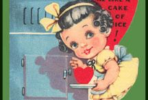 Vintage Valentines Cards / by Elizabeth Munday