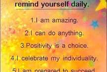 positivity !) / by Leilani Salas