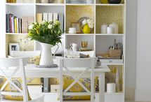 kitchen shelf decor / by Marina Palmer