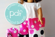 doll patterns / by The Pine Needle Valley