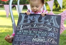 1st birthday ideas / by Nicole Donahue