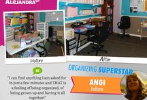 Before & After Organizing Projects / Before & After Organizing Projects / by Alejandra Costello | Home Organizing Tips