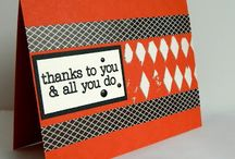 Thank You/Grateful Card Inspiration / by Patty Albertson