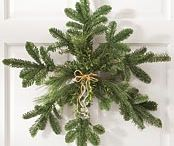 wreath and swags / by Delores Holleman
