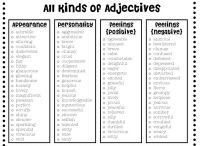Adjectives/Adverbs / by Becky Welch