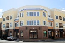 "Sea Coast Commons - Belmar, NJ / Sea Coast Commons - Mixed-use commercial and luxury apartment building featuring Windsor Pinnacle Wood/Clad Double Hung windows with factory painted interiors and between-the-glass grilles. Distributor: Garden State Millwork, Oakland, NJ. Dealer: Jaeger Lumber, Belmar, NJ.  The developers were impressed: ""We reviewed numerous window products before selecting the Windsor Pinnacle Clad Series. Windsor provided the quality and specifications that this project required at a reasonable cost.""   / by Windsor Windows & Doors"