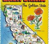 California - My Golden State / by Sandra Ferguson Raymond