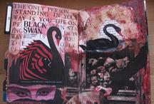"Inspiration #11 ""Altered Art Journals"" / by Susyn Rasmussen"