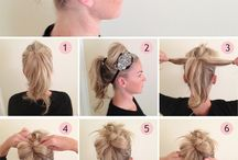 Hairstyles for me  / by Erika Cristina