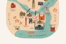 Mapas / by Alejandra Apablaza