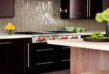 kitchen backsplash / by Cindy Wilson