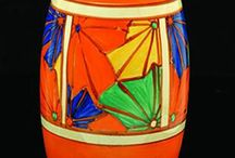 Clarice Cliff / Loved this artist from the first time I saw her work. Love the colour and designs. / by Lyndall Linaker