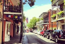 NOLA - Life in The Quarter / Sites, sounds, eats.... it's all there. History, culture, architecture.... it's all there. A city that never sleeps, rich in the flavor of life. An experience l / by Tommie Sue Pierce Moore