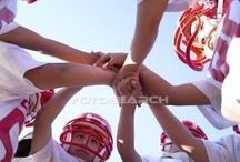 Football action shots / by Amy Davis