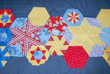 Hexagon quilts / by Erin Spencer
