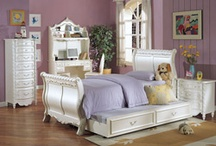 Decor - Bedroom / This is, for the moment, mostly just a place to plonk the items I might want to buy for real! Just so I can show my husband! Bit practical and boring I'm afraid :) / by Sharon Denise