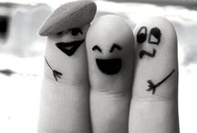 Tee Hee   Finger Friends / by So Many Little Things