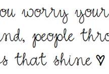 these little words / by Deedee TFA