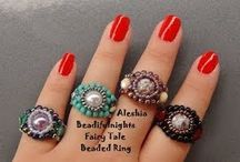 Beaded Rings / by Theone Welch