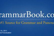 Grammar / by henryface
