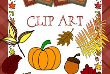 Fall Slideshow Clip Art / by Lynn Seibert