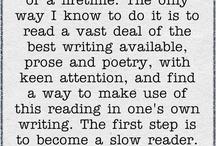 The writer in me.... / by Bekah Lauren
